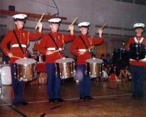 USMC Drum Quartette 1970-1971