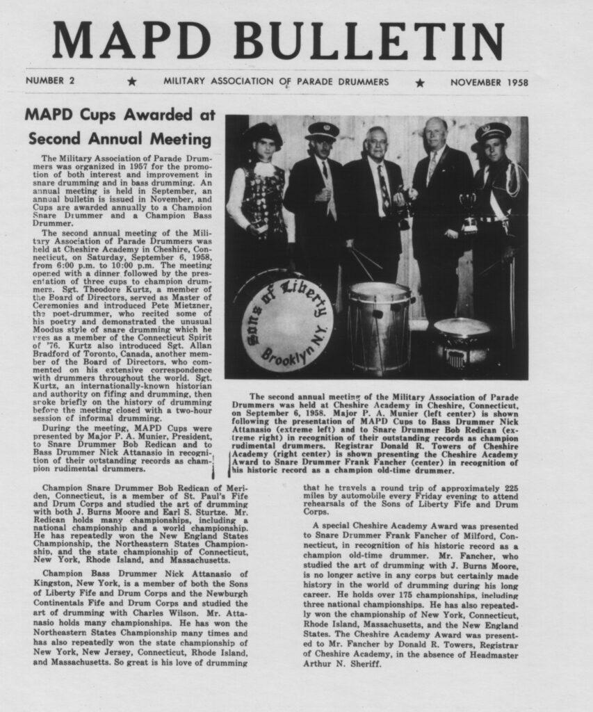 MAPD Newspaper -  Frank Fancher